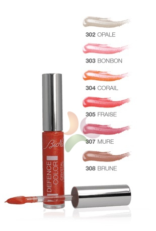 Bionike Defence Color Crystal Lipgloss Colore e luce 6ml 303 Bonbon